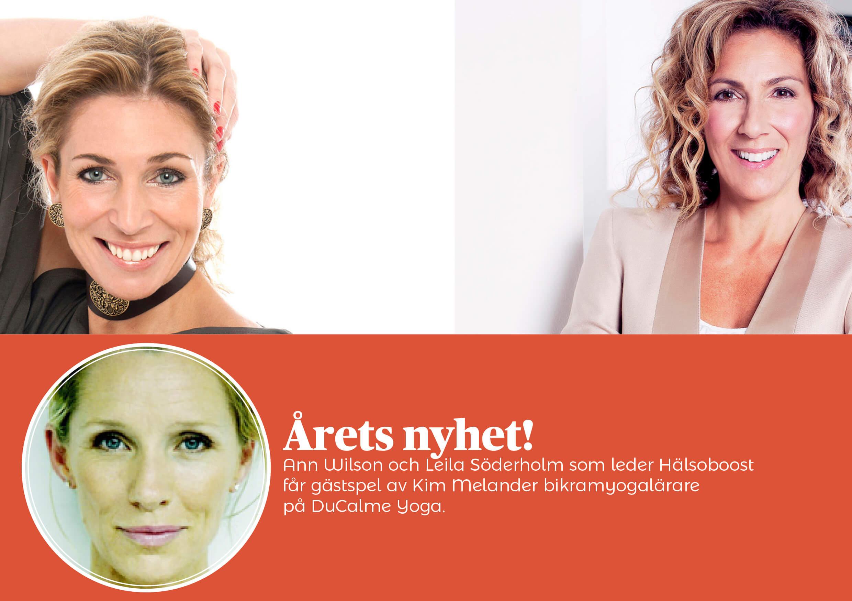 Hälsoboost! Med Ann Wilson och Leila Söderholm på Rönneberga Konferens Lidingö